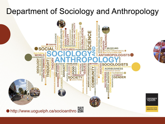 Banner - Department of Sociology and Anthropology, University of Guelph