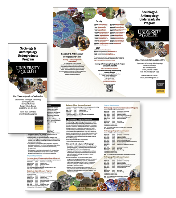 Sociology and Anthropology Brochure