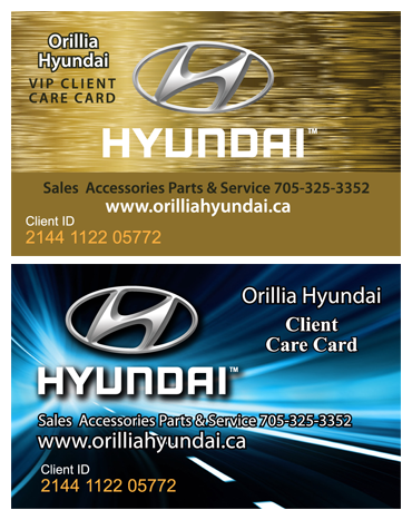 Client Care Cards