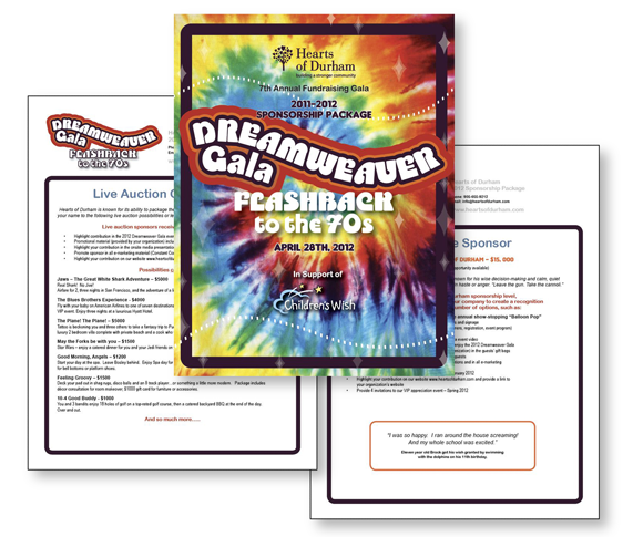 Sponsorship Package - Dreamweaver Gala